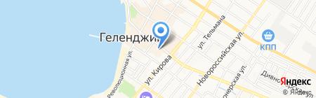 Бытовая мастерская на ул. Островского на карте Геленджика