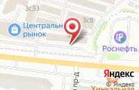 Схема проезда до компании Грация-Мебель в Жуковском