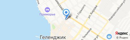 Адвокатский кабинет Титовой М.И. на карте Геленджика
