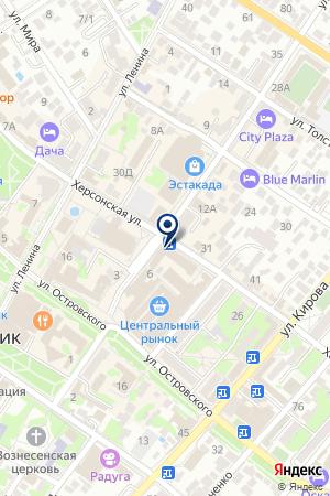 Ломбардъ на карте Геленджика