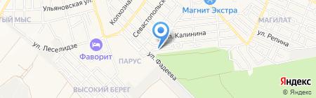 Союз риэлторов города-курорта Геленджик на карте Геленджика