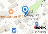 Пригородная на карте