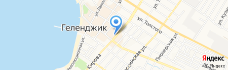 Банкомат Банк УРАЛСИБ на карте Геленджика