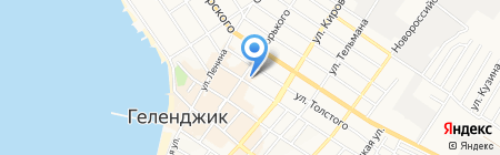 Отдел МВД России по г. Геленджику на карте Геленджика