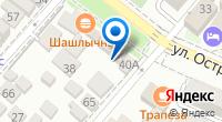 Компания Жако на карте