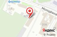 Схема проезда до компании Шиномонтажная мастерская на Молодёжной в Жуковском