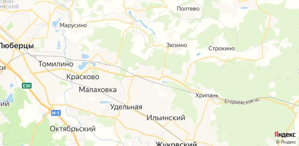 Вялки на карте