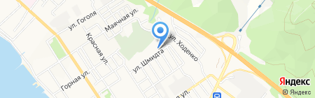 КОМИЛЬФО на карте Геленджика