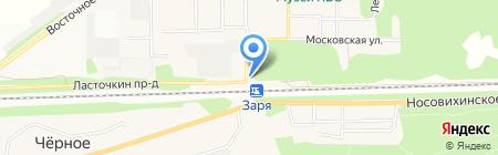 Мастерская по ремонту одежды на Советской на карте Балашихи