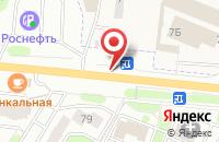 Схема проезда до компании Клаксон в Жуковском