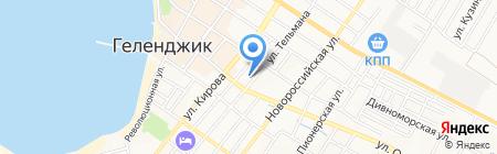 Геленджик-Банк на карте Геленджика