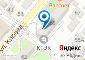 Краснодарский торгово-экономический колледж на карте