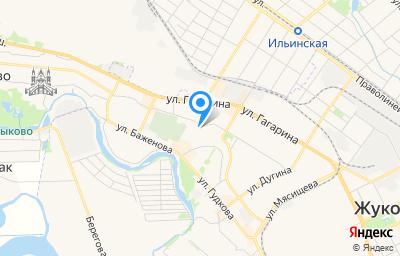 Местоположение на карте пункта техосмотра по адресу Московская обл, г Жуковский, ул Молодежная, д 29