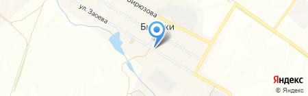 Отделение связи на карте Бирюков