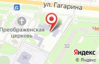 Схема проезда до компании Воскресная школа в Жуковском
