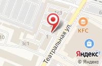 Схема проезда до компании Ярмарка в Жуковском