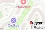 Схема проезда до компании Магазин цветов в Жуковском