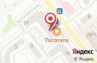 Схема проезда до компании Bambino в Жуковском