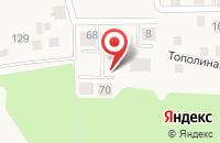 Схема проезда до компании Сосновый бор в Чёрном