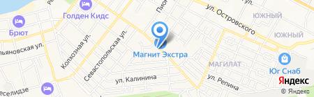 ПОЗИТРОНИКА на карте Геленджика