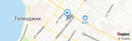 Транспортная компания на карте Геленджика