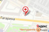 Схема проезда до компании H2O в Жуковском