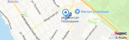 Геленджикгоргаз на карте Геленджика