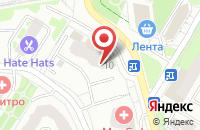 Схема проезда до компании Кухни Премьер в Жуковском
