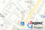 Схема проезда до компании 23UP.ru в Геленджике