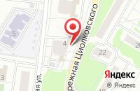 Схема проезда до компании Хелека в Жуковском