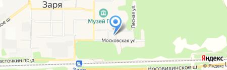 Поликлиника №10 на карте Балашихи