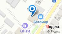 Компания Космос на карте