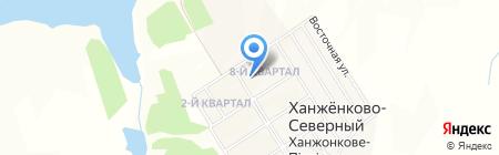 Детский сад №79 на карте Ханжёнково-Северного
