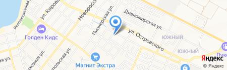 Центр гигиены и эпидемиологии в Краснодарском крае на карте Геленджика