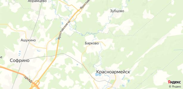 Барково на карте