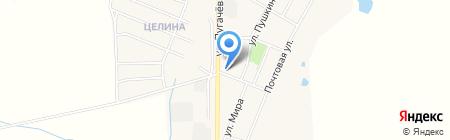 Среднерусский банк Сбербанка России на карте Брусянского