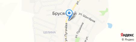 Сеть аптек на карте Брусянского