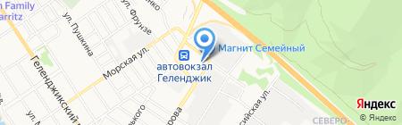 Фонд социального страхования РФ на карте Геленджика