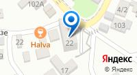 Компания Малахит на карте