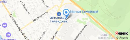 Банкомат Юго-Западный банк Сбербанка России на карте Геленджика