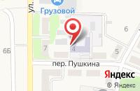 Схема проезда до компании Детский сад №9 в Брусянском