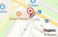 Схема проезда до компании Линзы-Просто в Жуковском