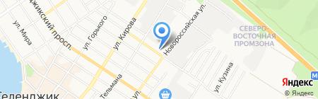 Геленджикский производственный участок на карте Геленджика