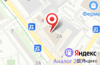 Схема проезда до компании Фотка в Жуковском
