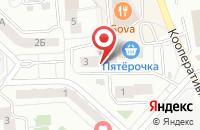 Схема проезда до компании Московский Индустриальный Банк в Жуковском