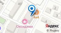 Компания 4×4 на карте