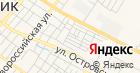 Народный на карте