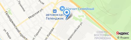 Электромонтажсервис на карте Геленджика