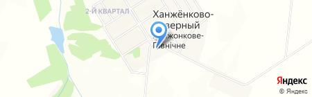 Дворец культуры им. В.В. Маяковского на карте Ханжёнково-Северного
