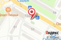 Схема проезда до компании Жасмин в Жуковском